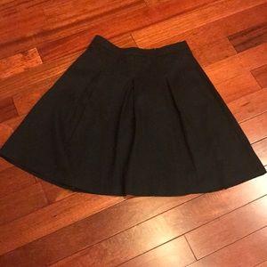 👗pleated midi skirt